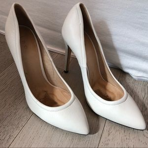 IRO White Pumps